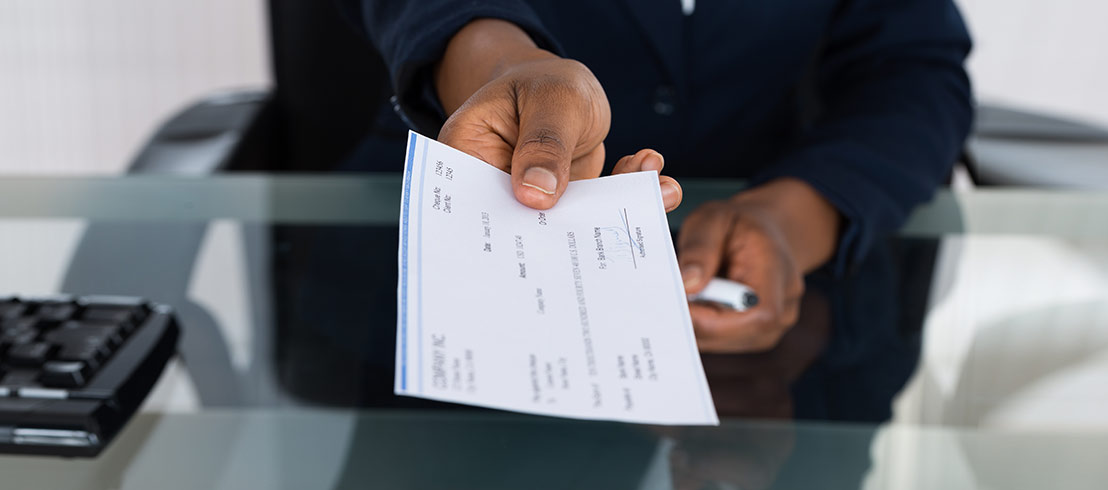payroll cheque